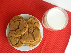 Gingersnap Cookies (Soft Style)
