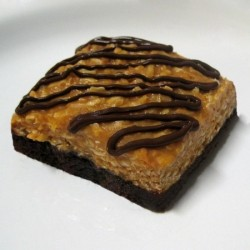 Girl Scout Samoa Brownies
