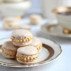 Golden Macarons
