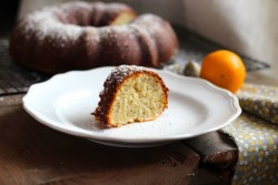 Greek Yogurt Meyer Lemon Poppyseed Coffee Cake