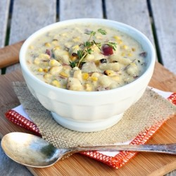 Grilled Corn and Potato Chowder Recipe