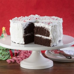 Holiday Chocolate Peppermint Cake