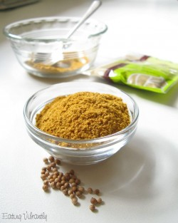 Homemade Mild Curry Powder