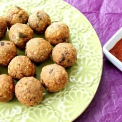 Indian Spiced Tuna Balls (Tuna Chop)