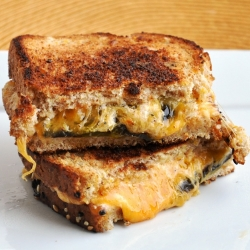 Jalapeno Popper Cheese Sandwich