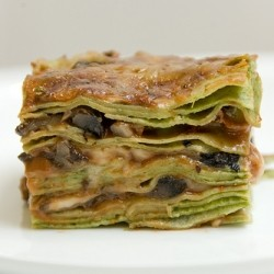Lasagne of Emilia Romagna with Mushrooms