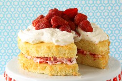 Layered Strawberry Shortcake