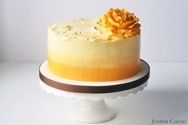 Lemon Lime Cake With Passionfruit Buttercream Recipe Recipes