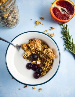 Maple Tahini Millet Granola