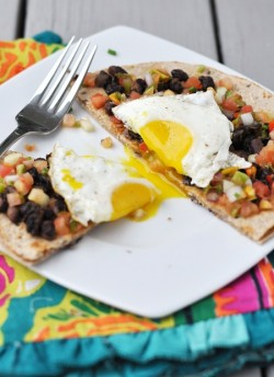 Mexican Breakfast Tostada