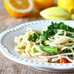 Meyer Lemon Spaghetti