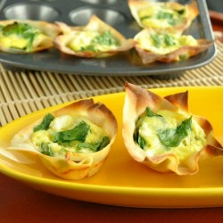10 Minute Quiche Cups