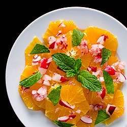 Moroccan Orange and Radish Salad