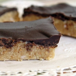 No Bake Chocolate Peanut Butter Bars
