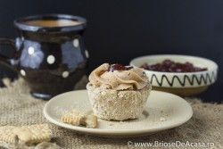 No-bake vegan muffins