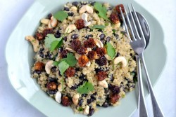 Nutty Quinoa with Inca Berries