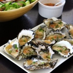 Oysters with Thai Lime and Ginger