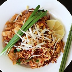 Pad Thai with Prawn and Pork