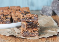 Paleo Chocolate Chip Blondies