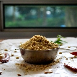 Pappula Podi Split Roasted Gram Powder Recipe