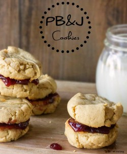 PBJ Sandwich Cookies Recipe