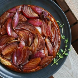 Red Onion Tart Tatin
