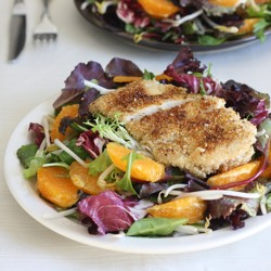 Sesame Chicken Tangerine Salad