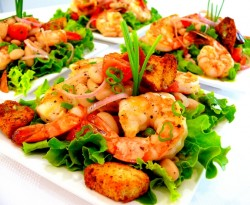 Shrimp and Cannellini Salad