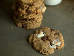 S'more Peanut Butter Cookies