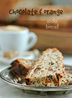 Soda Bread with Chocolate