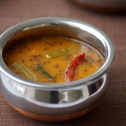 South Indian Lentil Curry Recipe