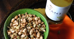 Spicy Peanuts and Pepitas