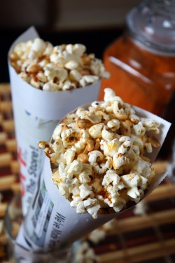 Spicy Popcorn and Peanuts; Lagos