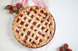 Strawberry Tapioca Pie