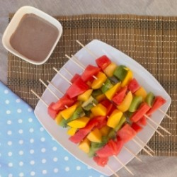 Summer Fruit Skewers Recipe