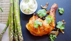 Tandoori-Style Roasted Chicken