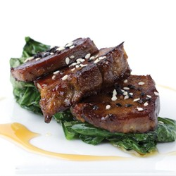 Teriyaki Grilled Pork Tongue