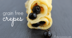The BEST Grain Free Crepes