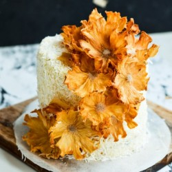 Tropical Bliss Layered Cake
