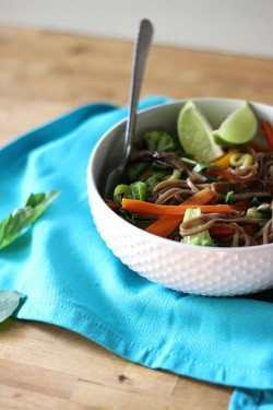 Vegan Asian Noodle Bowl