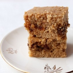 Vegan Nutty Coffee Cake