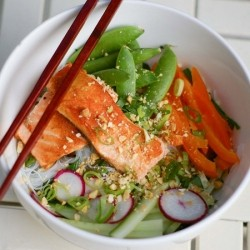 Vietnamese Rice Noodle Bowl Recipe