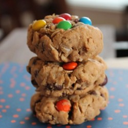 Whole-Wheat Monster Cookies