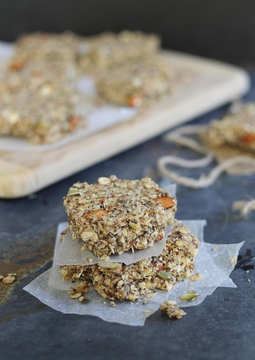 Apple Cinnamon Granola Bars