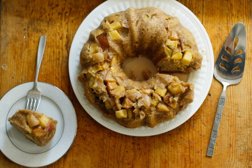 Apple Olive Oil Cake