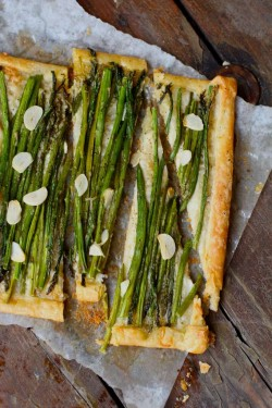 Asparagus and Gruyère Tart