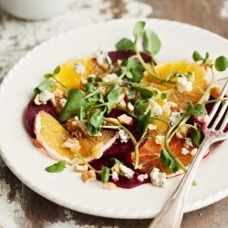 Beetroot and Orange Salad