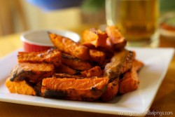 Better (Baked) Sweet Potato Fries