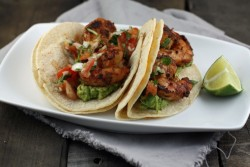 Blackened Cajun Shrimp Tacos