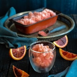 Blood Orange Mimosa Sorbet Recipe
